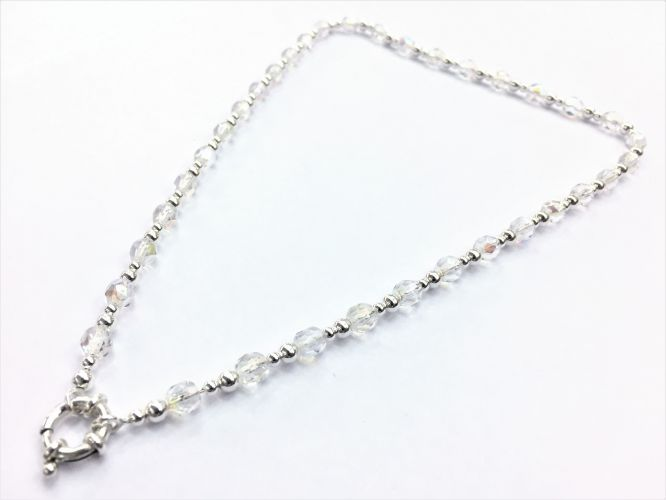 316adf3df08f Collar De Plata Y Cristales